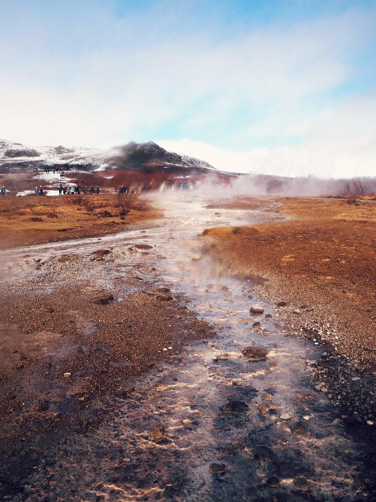 reykjavik Iceland golden circle tour geyser 1