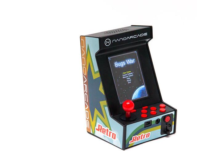 [開箱試玩] 掌中的懷舊!NanoArcade 奈米街機 – 放在桌上的大型機台遊戲機 @3C 達人廖阿輝