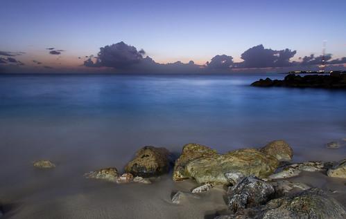 longexposure sunset sea sky water clouds nikon exposure caribbean bluehour stmaarten sintmaarten caribbeansea d7100 bensenior nikond7100