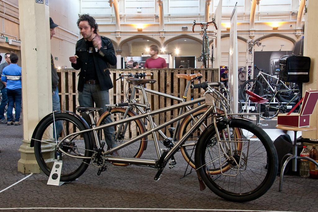 Wheeldan Titan Tandem @ Bespoked Bristol