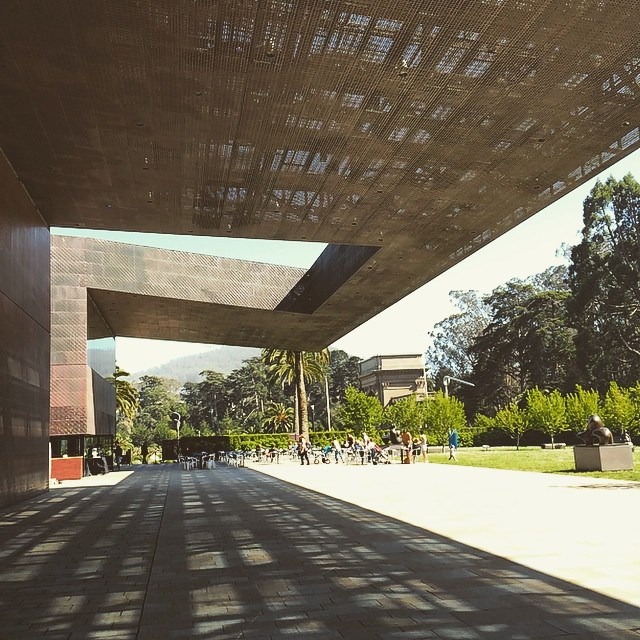 I could stay here all day! (And I actually did 💛💛💛) #deYoungmuseum #goldengatepark #sanfrancisco #wanderentes