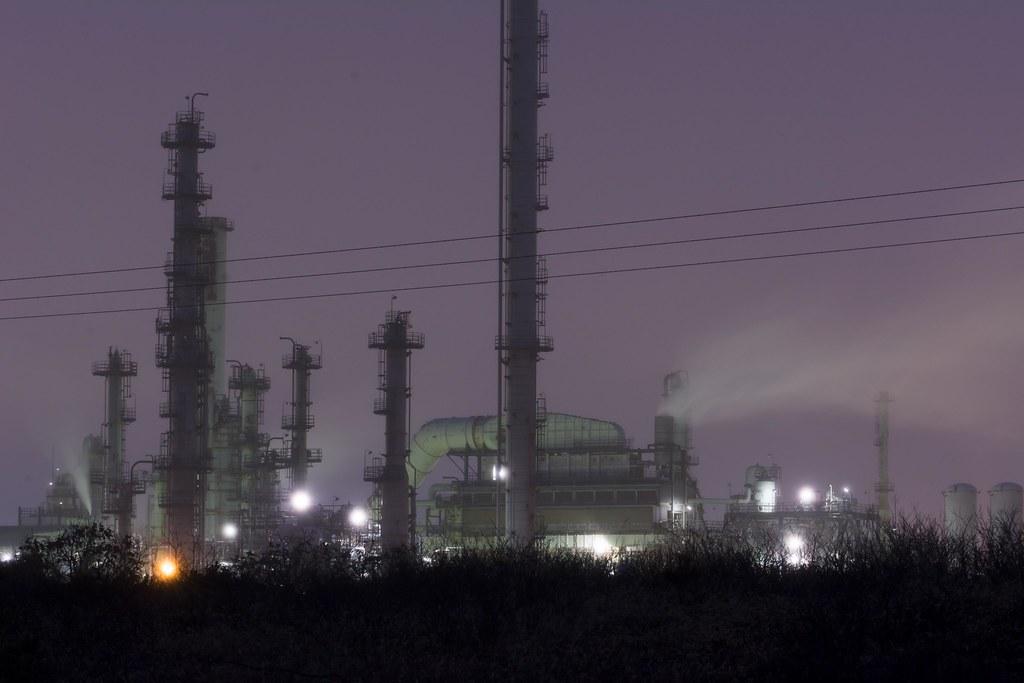 苫小牧工場地帯 (出光興産精油所) -  Idemitsu Refinery at Tomakomai