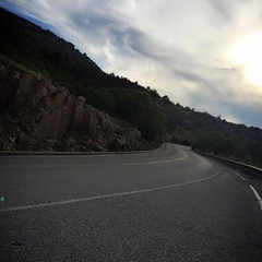 "Morning ride up Mt. Scott,... The Mt. Scott climb is about 3 miles long at 7.5% with a 13% grade at the ""wall."" It's very consistent since there are no switchbacks; instead, the climb literally corkscrews up the mountain. I love this ride..."