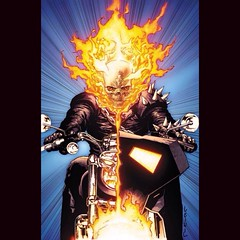 "Seeing this makes me want to go, ""Vroom, Vroom!"" #comics #GhostRider"