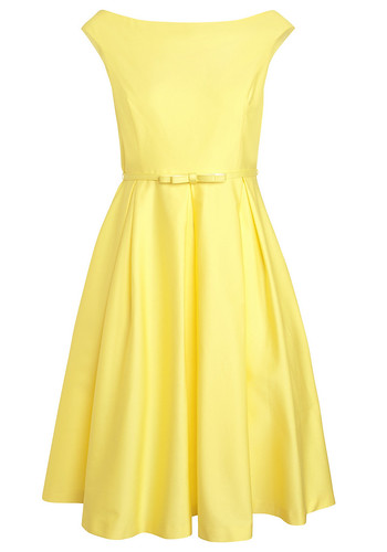 F+F Yellow Dress