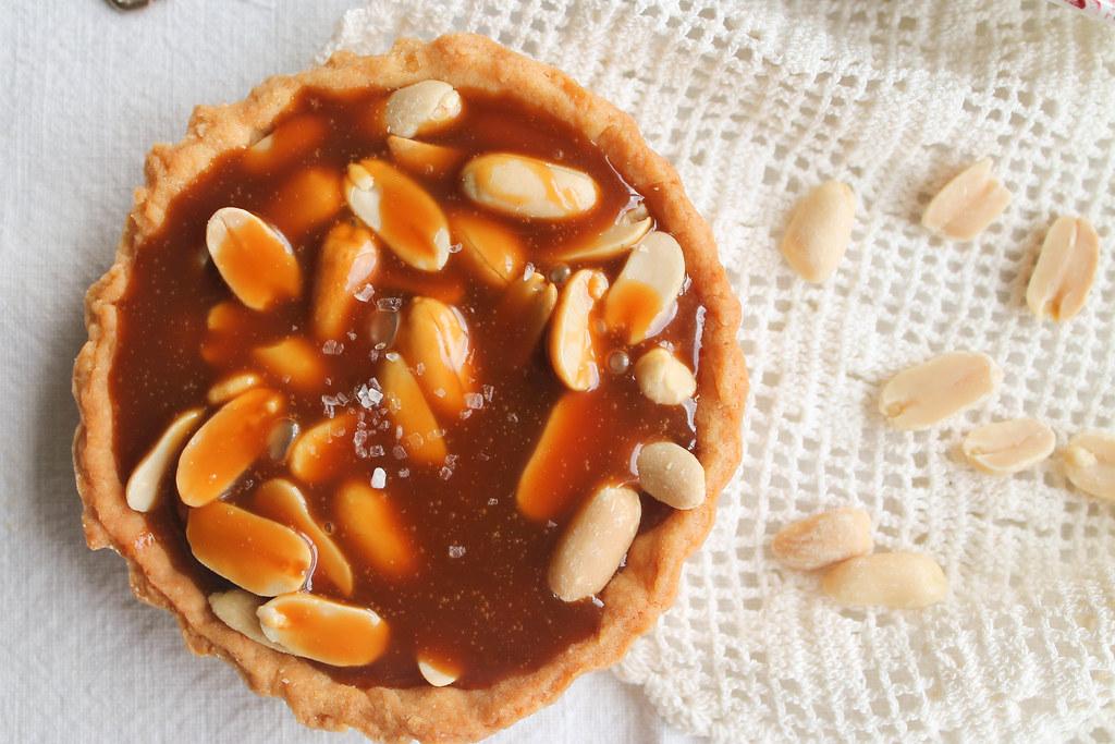 Tartelettes aux cacahuètes recette