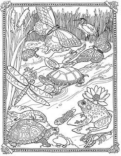 Pond Coloring Pages | via Free Coloring Pages ift.tt/1FK0gee ...
