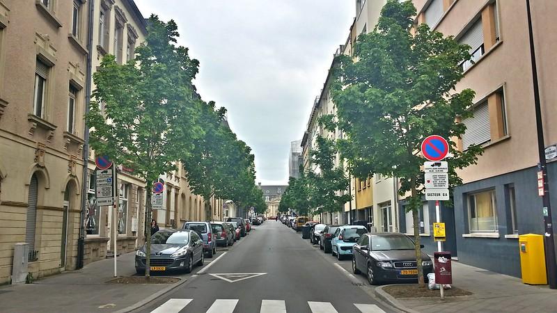 Rue Michel Rodange, Luxembourg