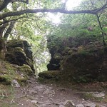 A gap in Double Waters Tor