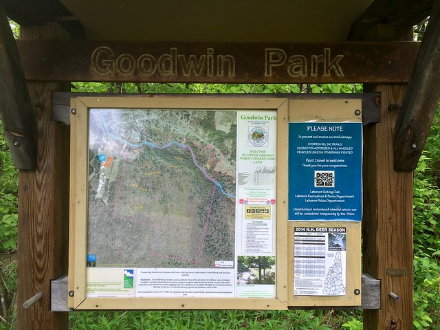 Goodwin Park, Lebanon, Map, New Hampshire, Storrs Hill