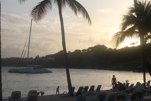 sunset plage guadeloupe clubmed saintanne