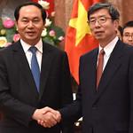 President Nakao meets Viet Nam President