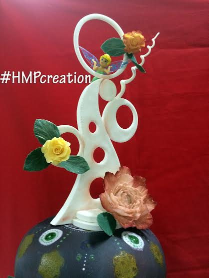 Fantasy Themed Cake by Chef Harold Punsalan and Ms. Hazel Punsalan of BakersDuo#HMPcreation