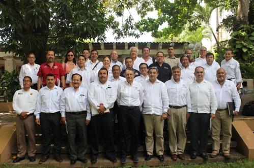 Gobierno de Oaxaca, Participa titular de CEPCO en Reunión Nacional de Protección Civil en Tabasco