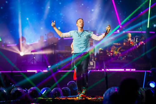 Coldplay Amsterdam ArenA mashup foto -