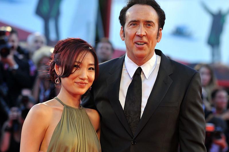 Николас Кейдж с третьей женой