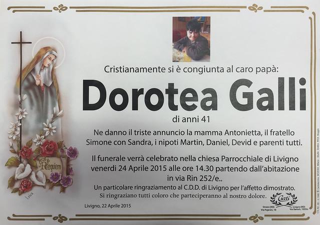 Galli Dorotea