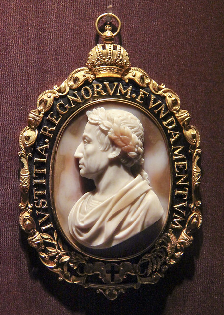 Cameo showing the portrait of Emperor Franz I