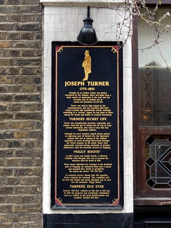 Turners Old Star Wapping History Board