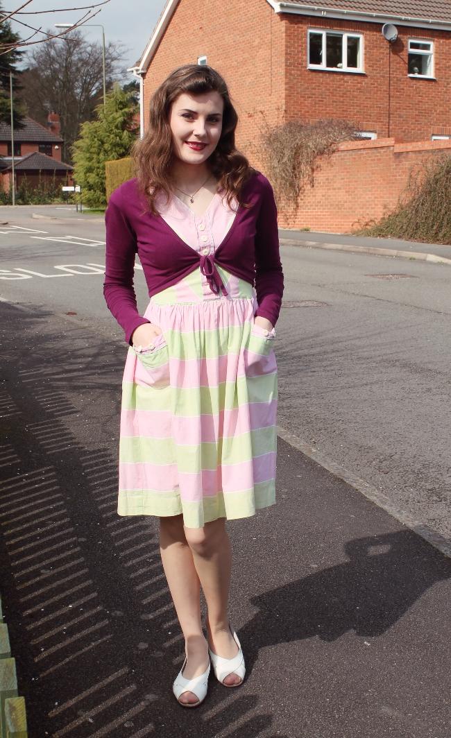 easter vintage outfit via lovebirds vintage