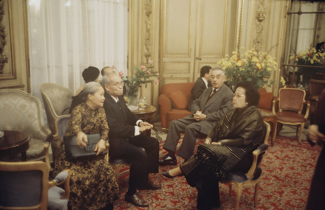 1968 - Paris Peace Talks - by Loomis Dean