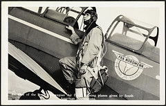 10. One of the Royal Norwegian Air Force training planes given by South American Norwegians