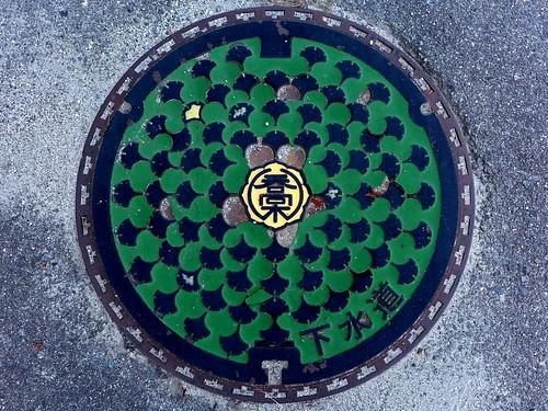 Takagi Nagano, manhole cover (長野県喬木村のマンホール)