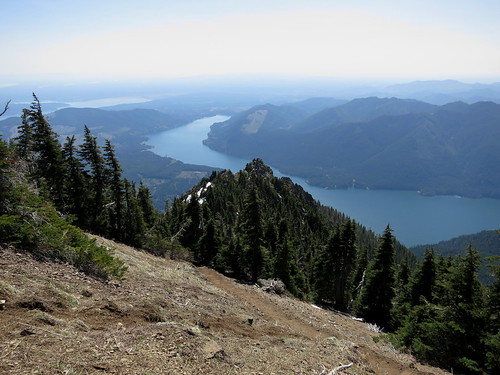 Views from Mount Ellinor in Olympic National Park, Washington