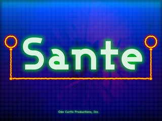 Sante iPad Game: Splash Screen