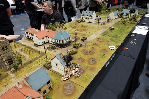 WW2 Table at Salute 2015