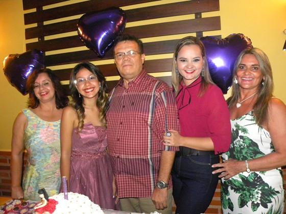 Joselma Pereira, Maria Rita, Roberto Vinholte, Lizandra Oliveira e Helena Vidal