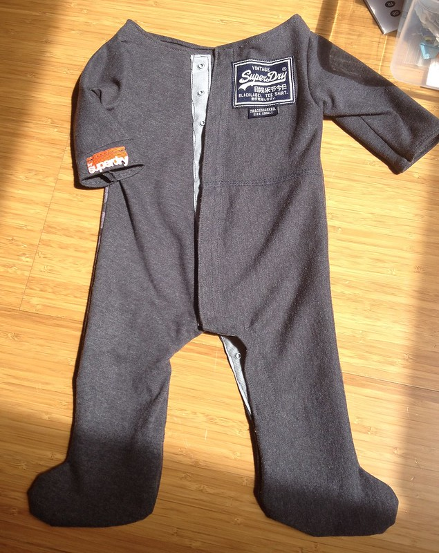 Superdry Baby Grow Front