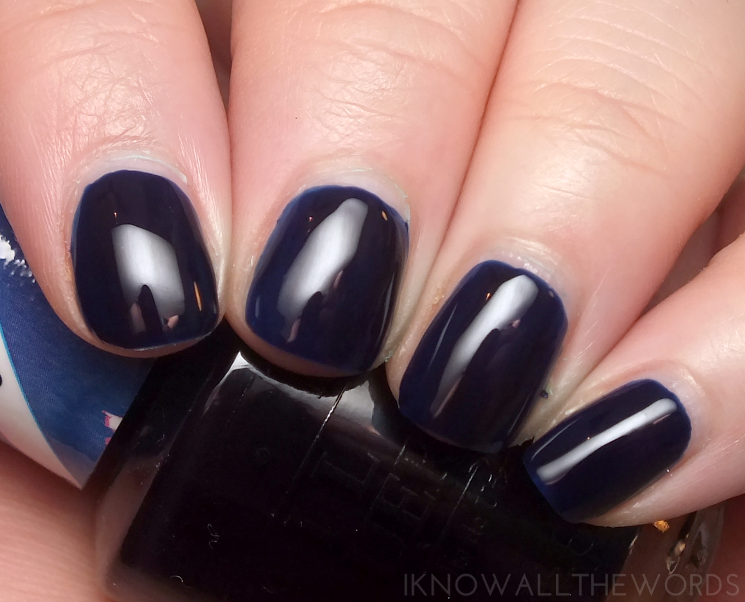 opi colour paints indigo motif