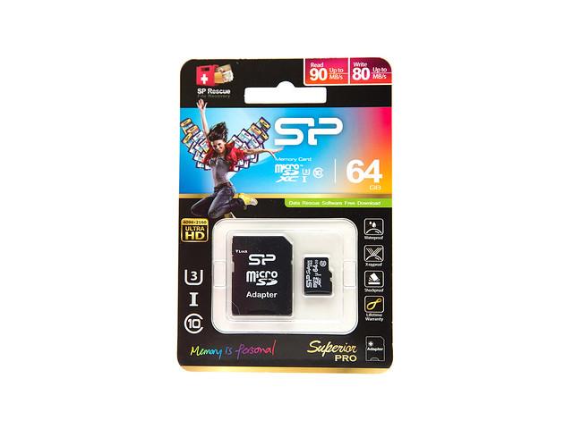 MicroSD 也有超高速!SP 廣穎 Superior UHS-I U3 MicroSD + HTC One M9 實測 @3C 達人廖阿輝