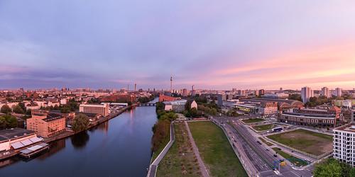 city panorama berlin alex skyline sunrise germany dawn gallery cityscape sonnenuntergang nightshot capital alexanderplatz fernsehturm eastside spree sonnenaufgang berliner mauer nachtaufnahme ostbahnhof blaue stunde mediaspree