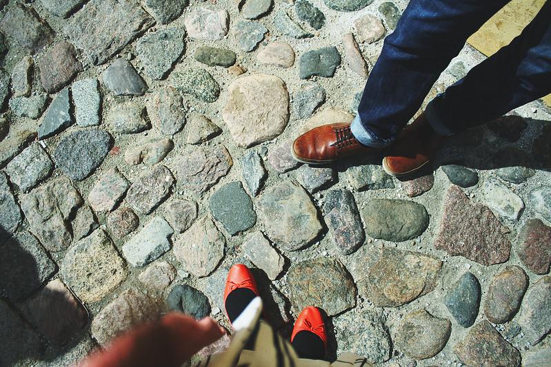 Copenhagen Kastellet cobblestones