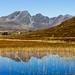 Blà Bheinn reflected in Loch Cill Chriosd, Skye by AnnieMacD