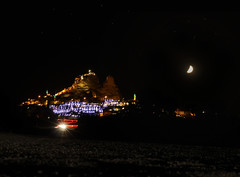 Ushisar Castle NightLapse
