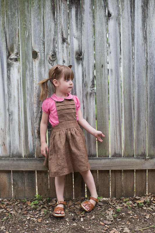 schoolhouse pinafore