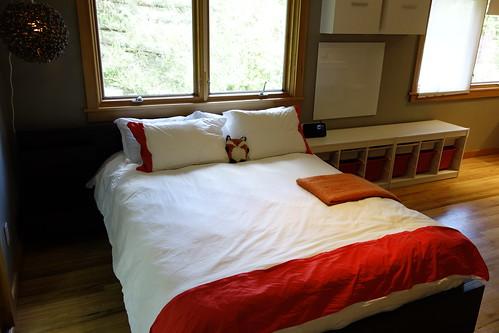 Red & White Kids Room