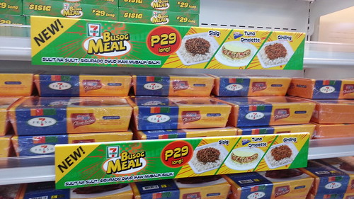 Busog Meals For P29 At 7 Eleven Abreeza Food Trips In