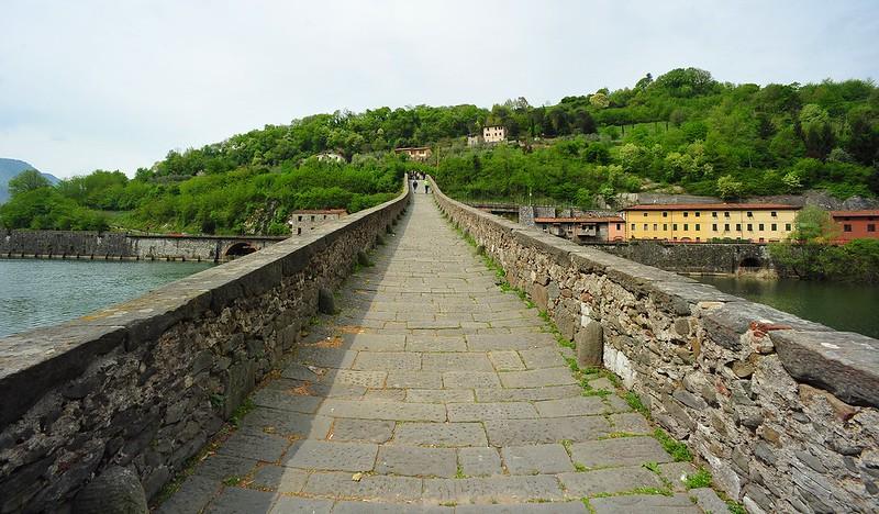 Ponte del diavolo, Garfagnana, Tuscany, Italy April 26, 2015 395