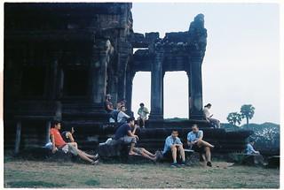 5h sáng ở Angkor Wat