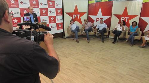 Debate preparatório para o V Congresso Nacional do PT