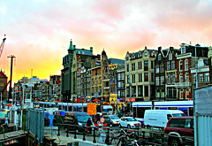 Winter Sunset Holland