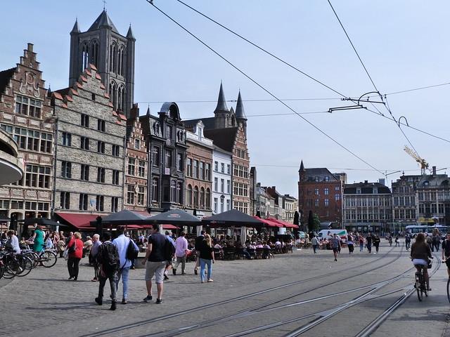 Korenmarkt (Gante, Flandes)