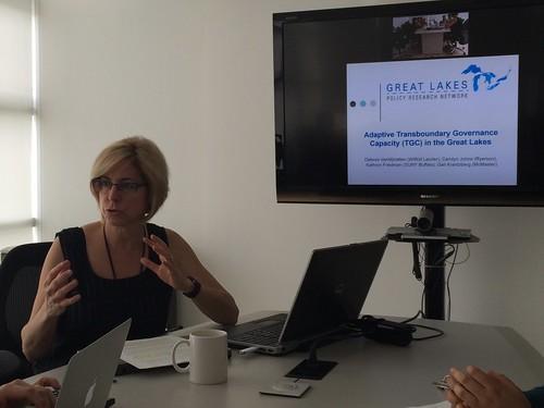 Seminar Debora VanNijnatten at CIDE Region Centro