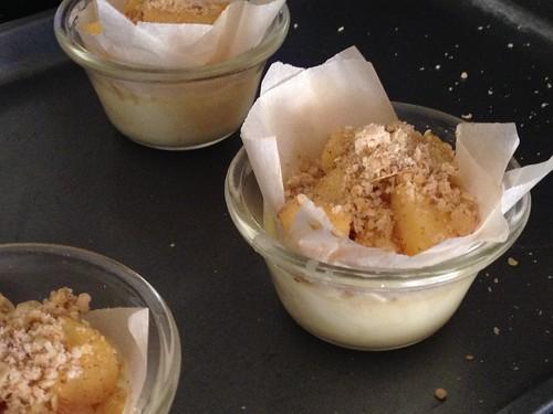Apple Crème Brûlée Brioche Filling