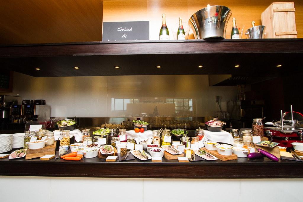 Seasonal Tastes' cold cuts and sushi