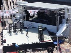 International Dance Festival Birmingham 2016 - Centenary Square - stage - hand stand